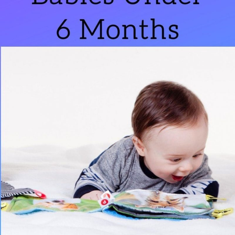 Best Books for Babies Under 6 Months