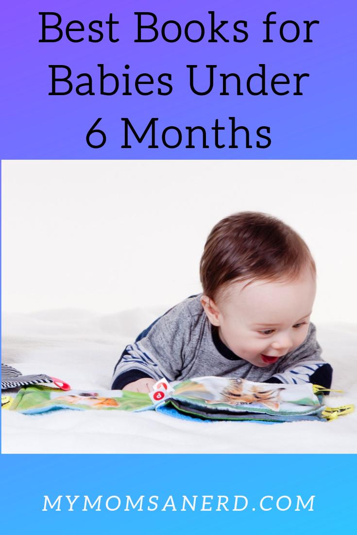 Best Books for Babies Under 6 Months