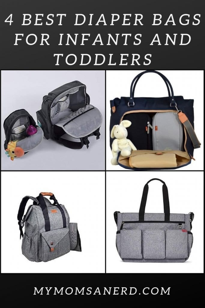 4 Best Diaper Bags for Infants and Toddlers