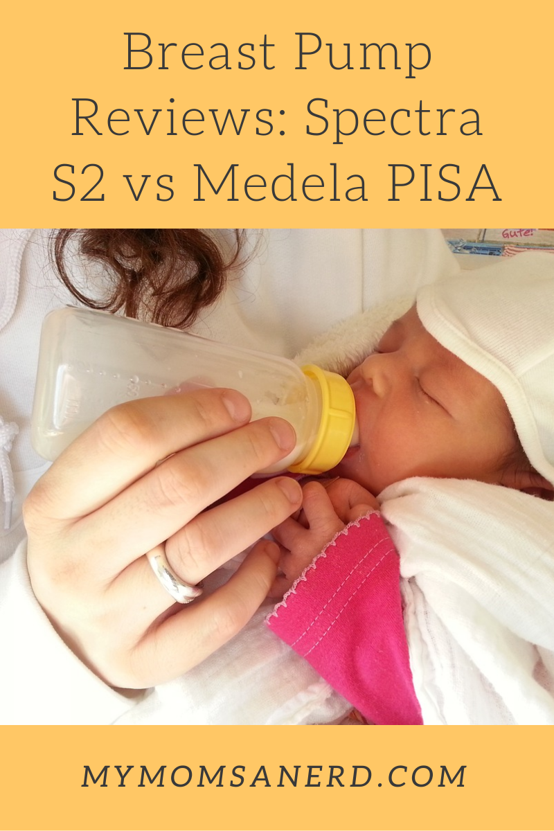 Breast Pump Comparison: Spectra S2 vs Medela PISA