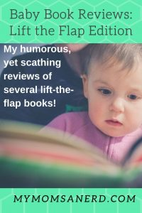 baby book reviews: lift the flap edition