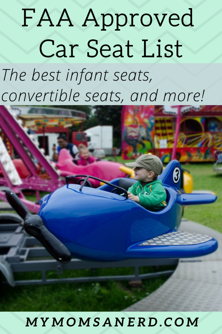 The Ultimate FAA Approved Car Seat List for 2020