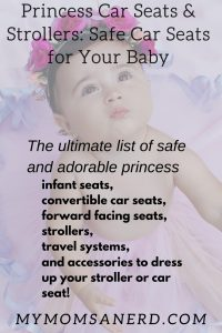 princess car seats and strollers