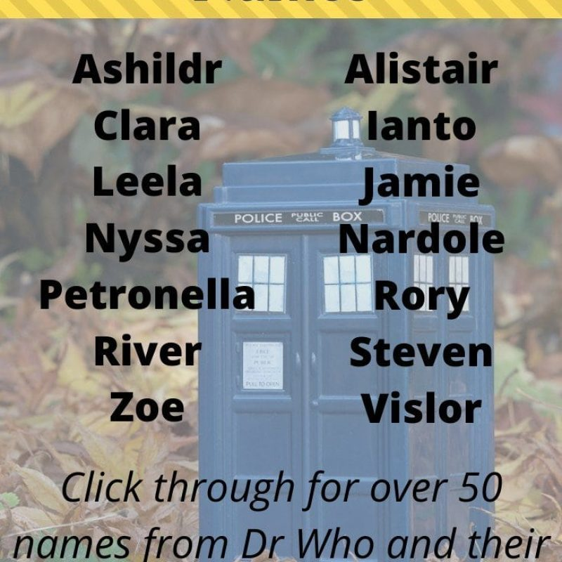 Doctor Who Baby Names: 51 Geeky & Nerdy Names