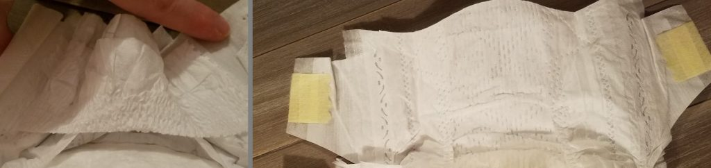 pampers vs kirkland waistband