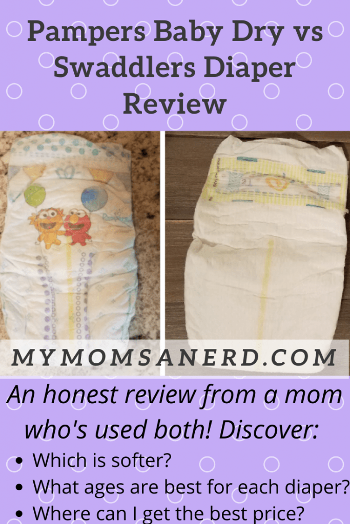 pampers baby dry vs swaddlers diaper review