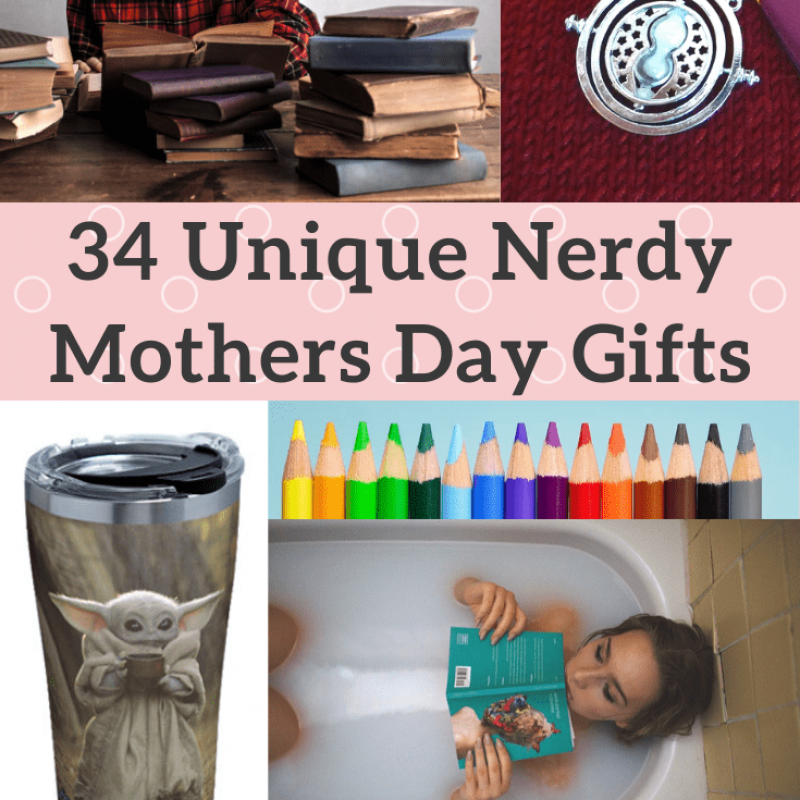 [34+] Nerdy Mothers Day Gifts: Unique Presents for Your Geeky Mom [2021]