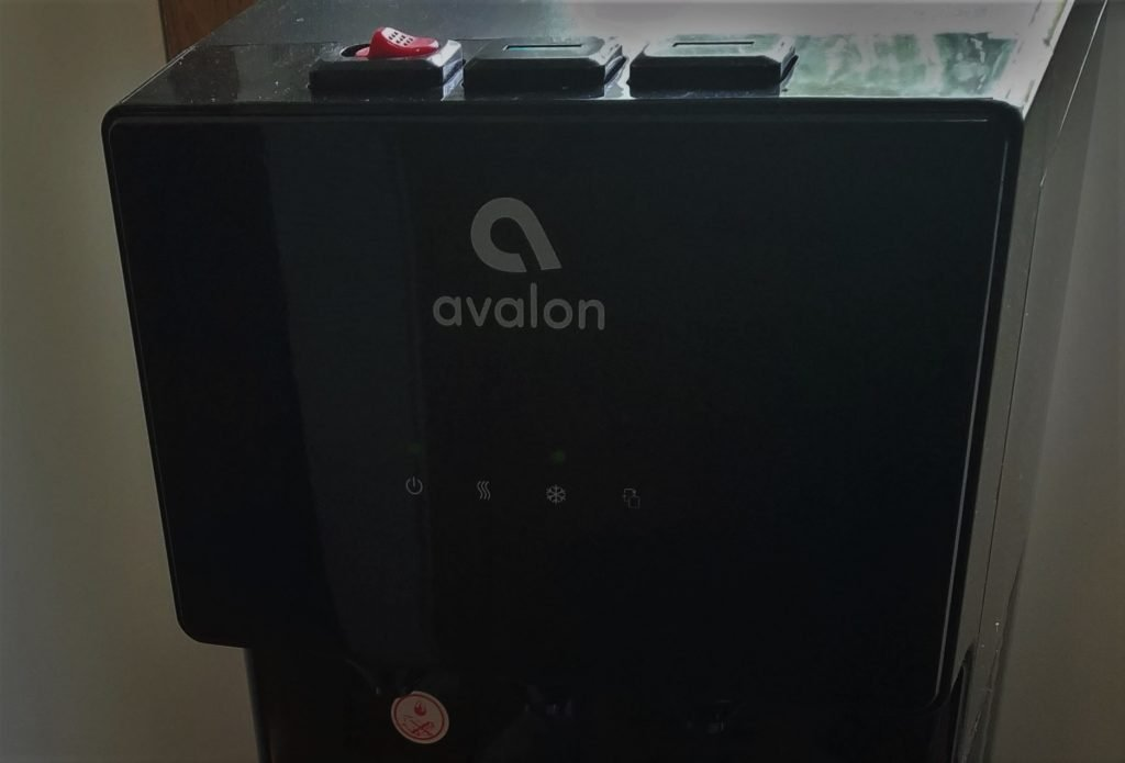 avalon A4 babyproof water cooler dispense buttons