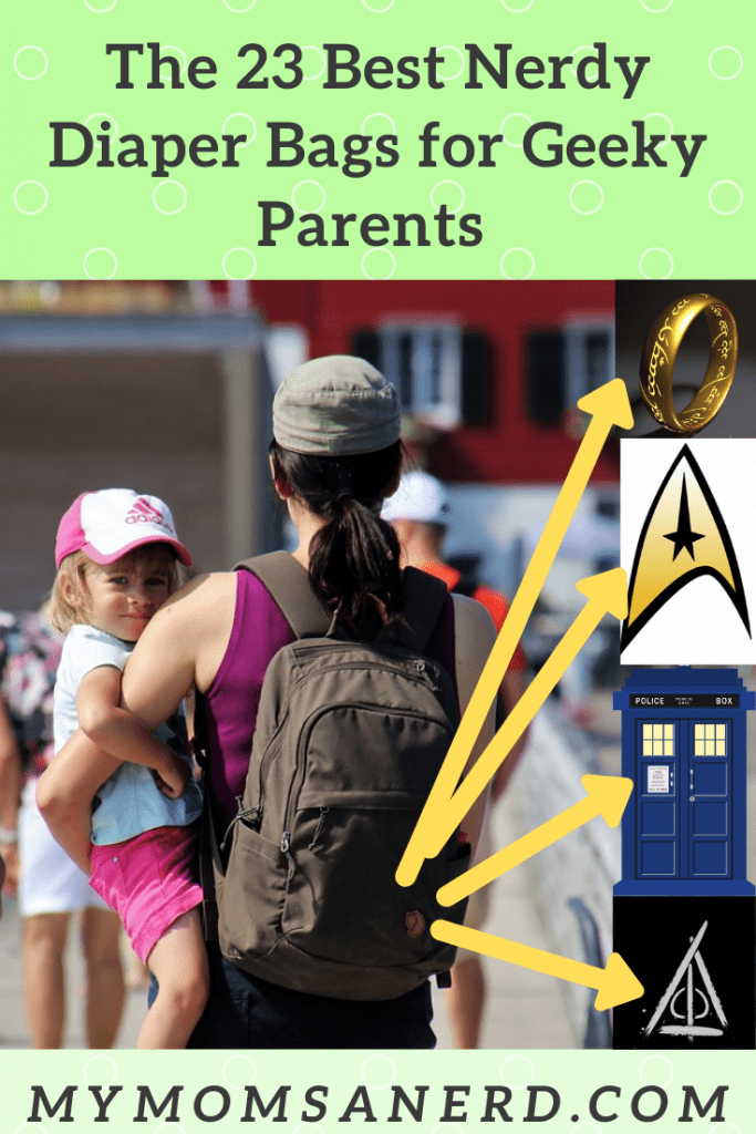 The [23] Best Nerdy Diaper Bags for Geeky Parents