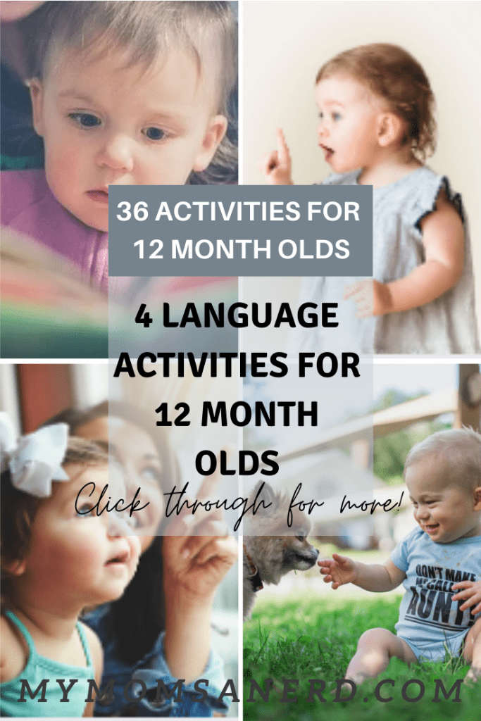 activities for 12 month olds - language activities for 12 month olds