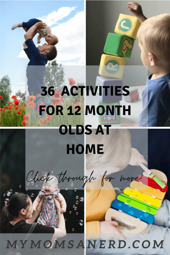 [36] Fun and Simple Activities for a 12 Month Old at Home
