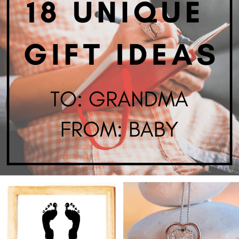 18 Unique Ideas | Gifts for Grandma from Baby