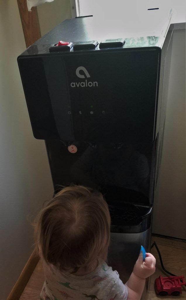 avalon a4 water cooler review- here's my baby's opinion!