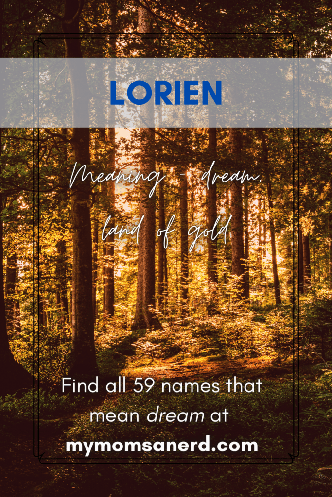 lorien - land of gold, dream