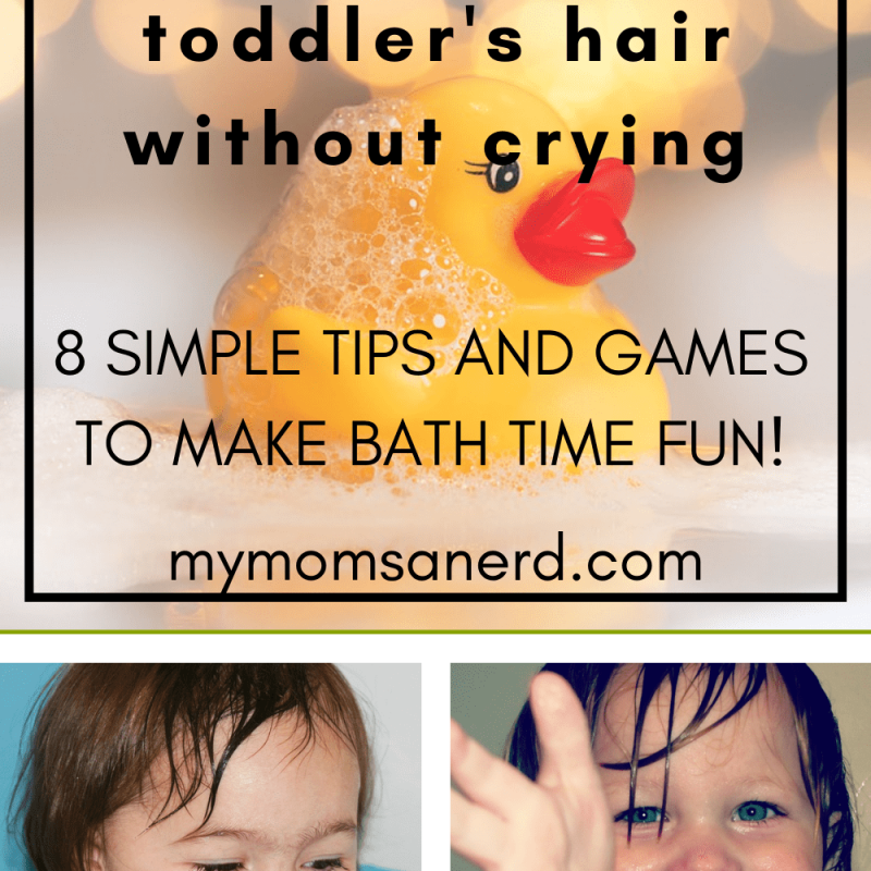 How to Wash Your Toddler's Hair Without Crying [8 Simple Bath Time Tips]