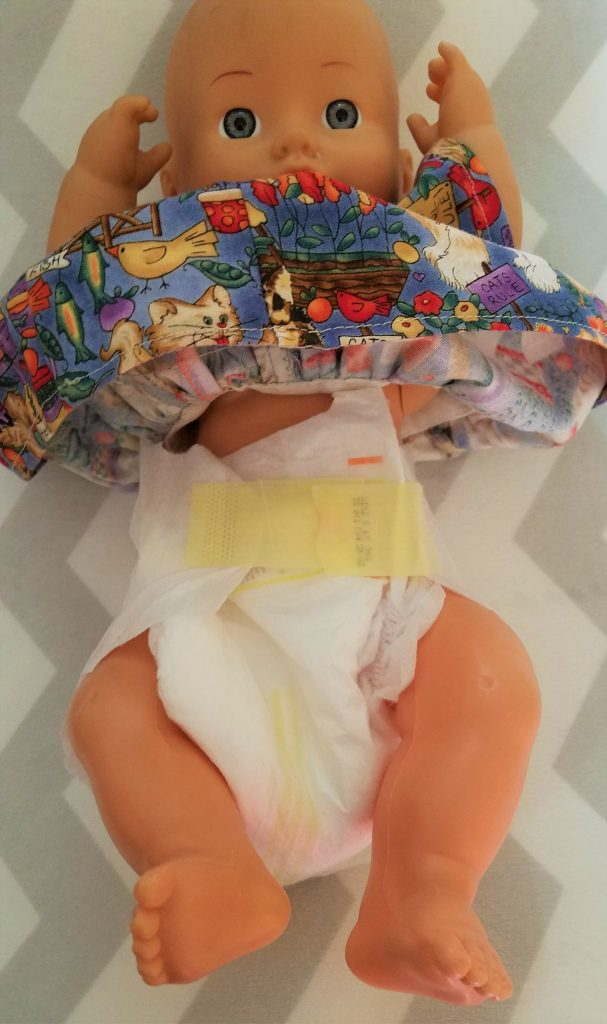how not to fasten diaper tabs