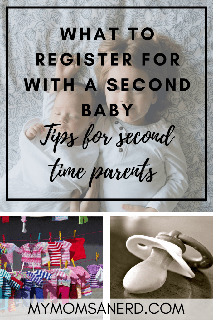 what to register for a second baby