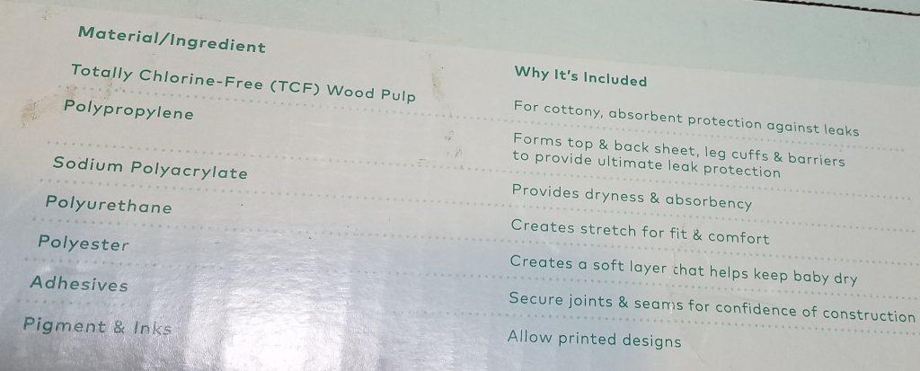 cloud island diaper review ingredients