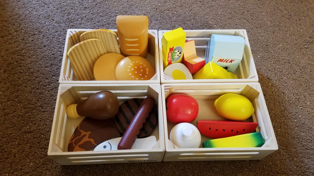 melissa and doug food groups accessory