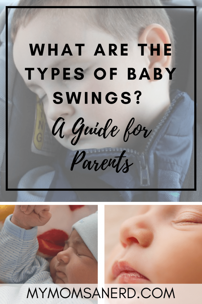 What are the types of baby swings? What are alternatives to baby swings?