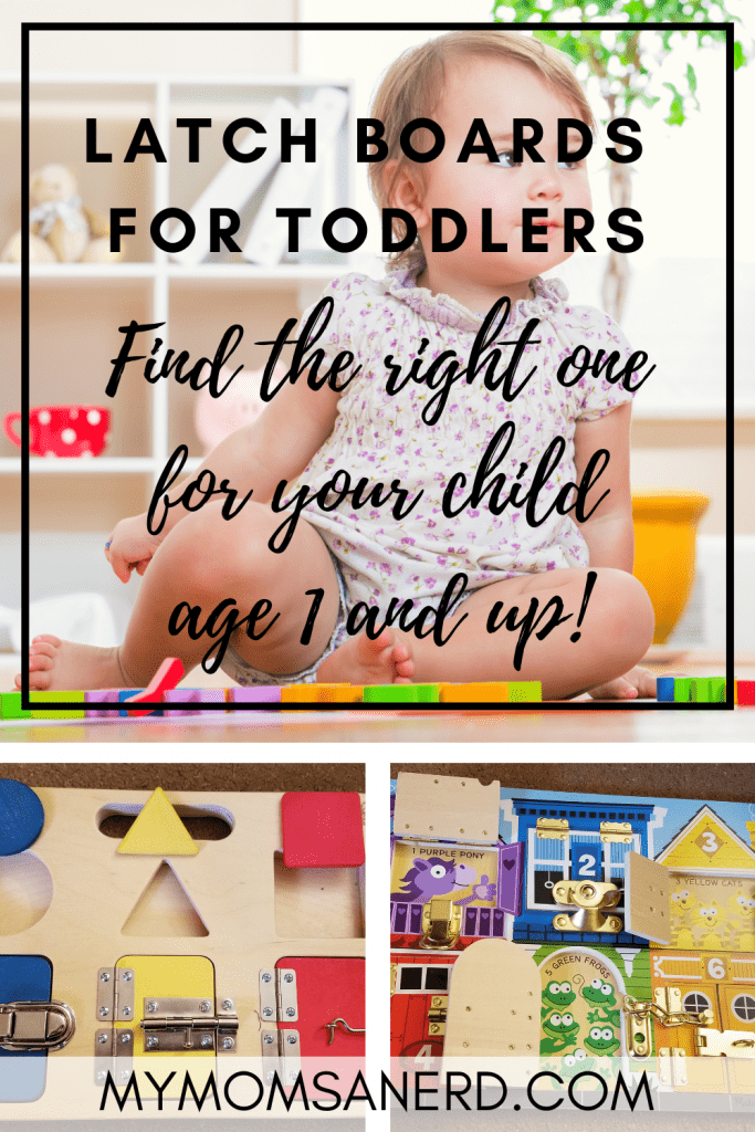 Read more about the article Latch Boards for Toddlers | Busy Boards for Age 1+