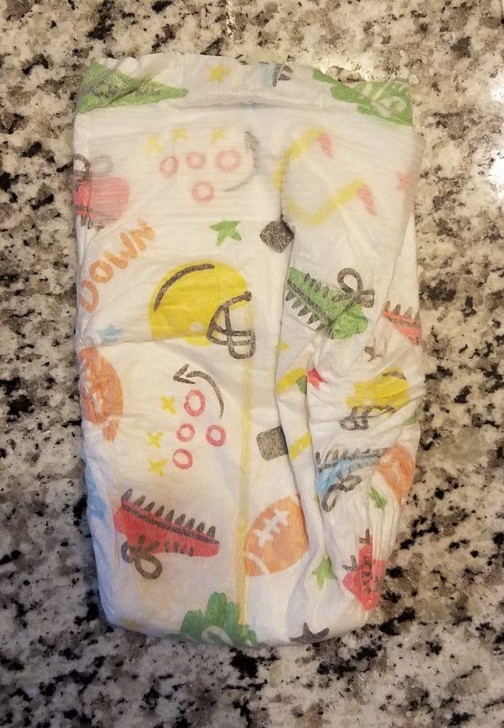 hello bello diaper review- outside