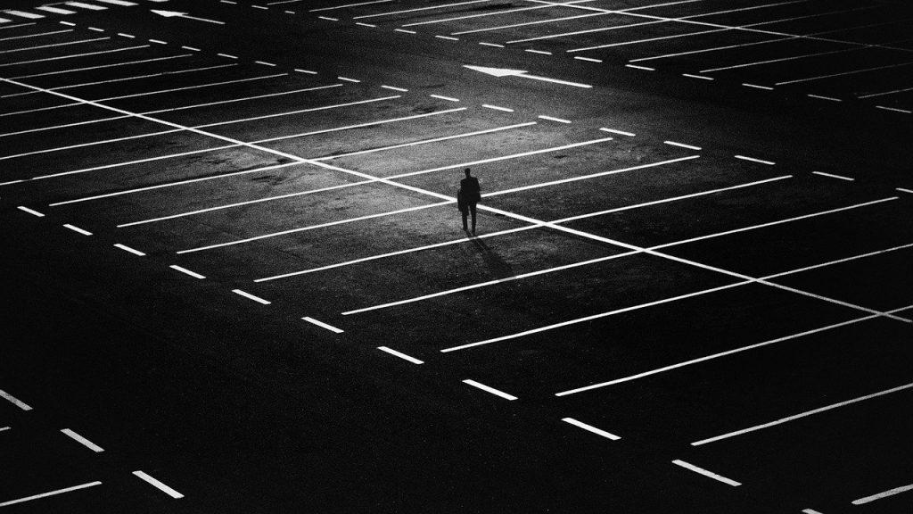 names that mean empty - empty parking lot