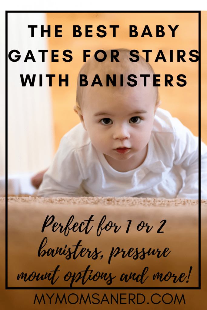 Read more about the article What are the best baby gates for stairs with banisters? | Every type of staircase and home covered here!