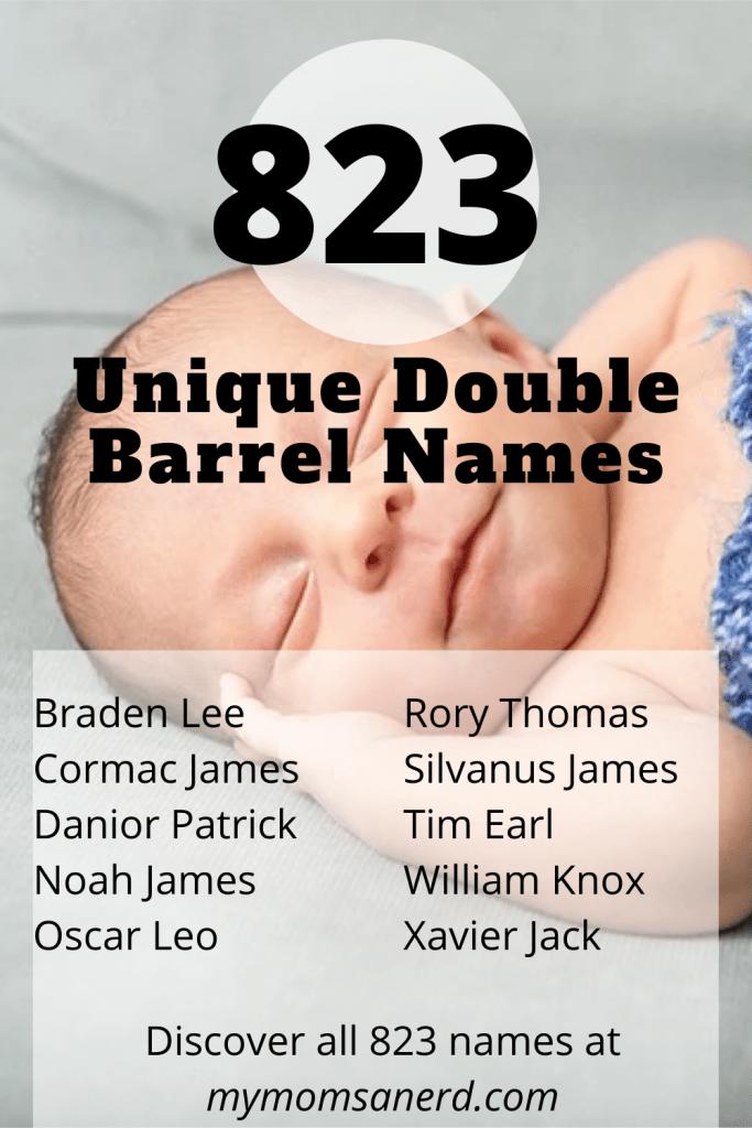 unique double barrel names for boys